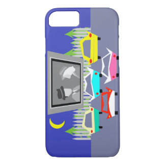 Small Town Drive-In Movie iPhone 7 Case