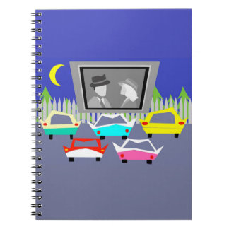Small Town Drive-In Movie Notebook