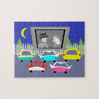 Small Town Drive-In Movie Puzzle