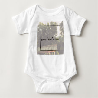 Small Town Girl Baby Bodysuit