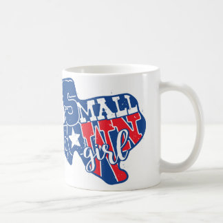 """Small Town Girl"" White 11 oz Classic White Mug"