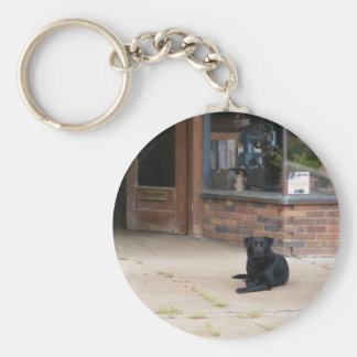 Small Town Life Basic Round Button Keychain