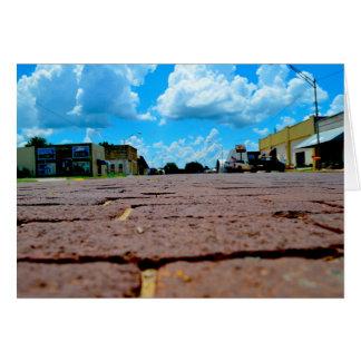 Small Town Main Street Card
