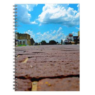 Small Town Main Street Notebook