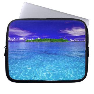 Small Tropical Paradise Laptop Sleeve
