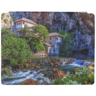 Small village Blagaj on Buna waterfall, Bosnia and iPad Cover