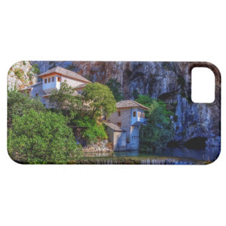 Small village Blagaj on Buna waterfall, Bosnia and iPhone 5 Cases