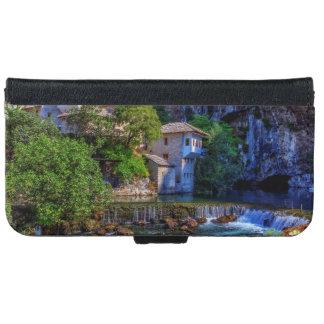 Small village Blagaj on Buna waterfall, Bosnia and iPhone 6 Wallet Case