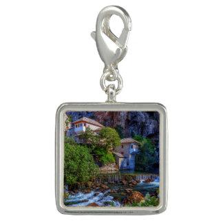Small village Blagaj on Buna waterfall, Bosnia and Photo Charm