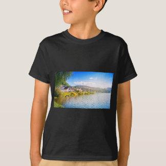 Small village near a lake T-Shirt