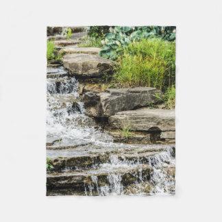 Small Waterfall Fleece Blanket