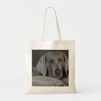 Small Weimaraner Tote Bag