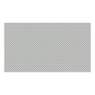 Small White and Grey Kevlar Carbon Fiber Pack Of Standard Business Cards