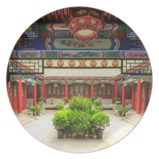 Small Wild Goose Temple, China Dinner Plate