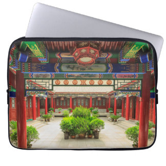 Small Wild Goose Temple, China Laptop Sleeve