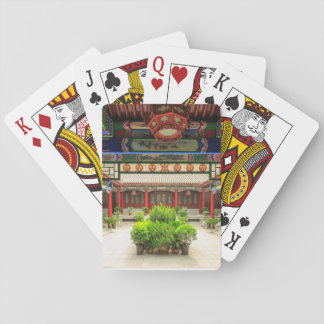 Small Wild Goose Temple, China Poker Deck