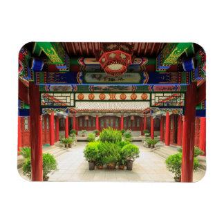 Small Wild Goose Temple, China Rectangular Photo Magnet