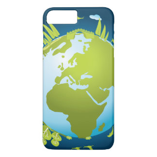 Small world iPhone 7 plus case