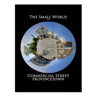 Small World of Commercial Street Provincetown Postcard