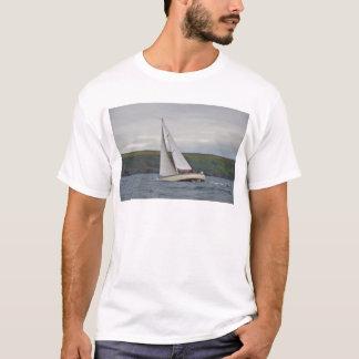Small Yacht Sailing Hard T-Shirt