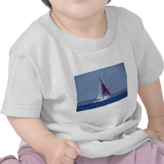 Small Yacht Setting A Spinnaker Tees