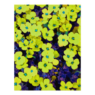 Small Yellow Flowers Letterhead
