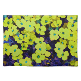 Small Yellow Flowers Placemat