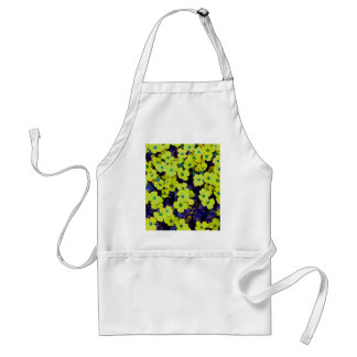 Small Yellow Flowers Standard Apron