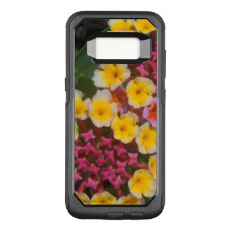 Small Yellow Tropical Flowers With Pink Buds OtterBox Commuter Samsung Galaxy S8 Case