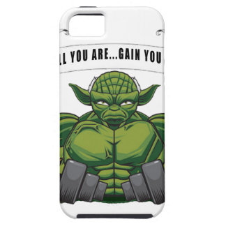 SMALL YOU ARE...GAIN YOU MUST iPhone 5 COVER