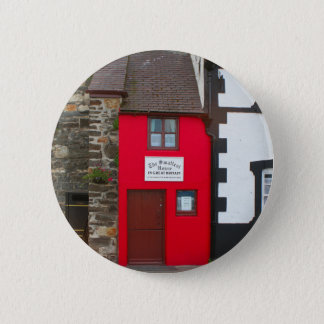 Smallest house in Great Britain 2 Inch Round Button