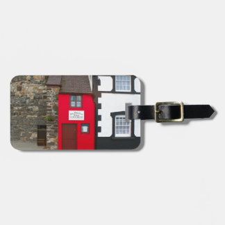 Smallest house in Great Britain Luggage Tag
