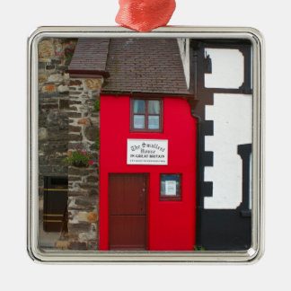 Smallest house in Great Britain Metal Ornament