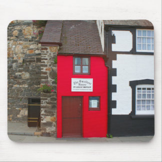 Smallest house in Great Britain Mouse Pad