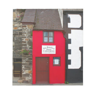 Smallest house in Great Britain Notepad