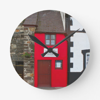 Smallest house in Great Britain Round Clock