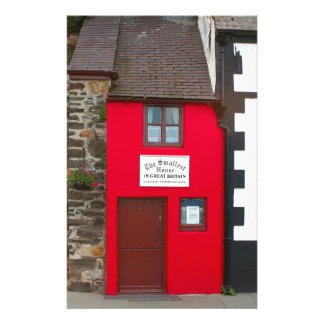 Smallest house in Great Britain Stationery
