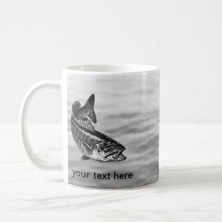 Smallmouth Bass Fishing Coffee Mug
