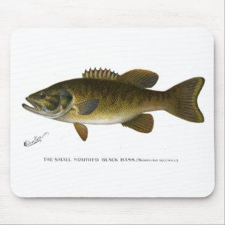 Smallmouth bass mouse pad