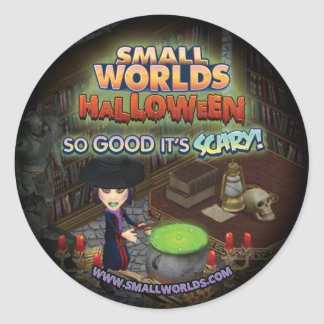 SmallWorlds Halloween Witch Stickers