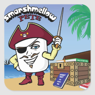 Smarshmellow Pete - Sticker