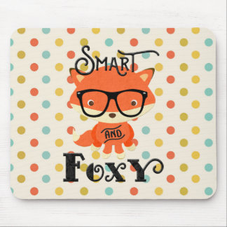 Smart AND Foxy-Dots Mouse Pad