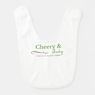 Smart Baby Bib Cheeky and Cheery
