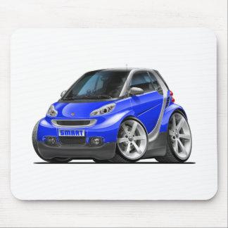 Smart Blue Car Mouse Pad
