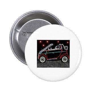Smart Car Pinback Button