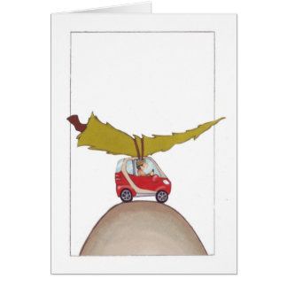 Smart Car Holiday Card