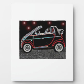 Smart Car Plaque
