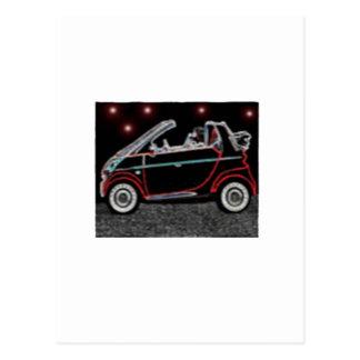 Smart Car Postcard