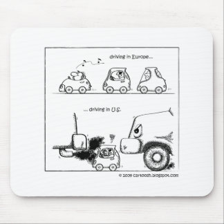 Smart Cars in U.S. Mouse Pad