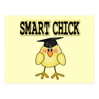 Smart Chick Postcard